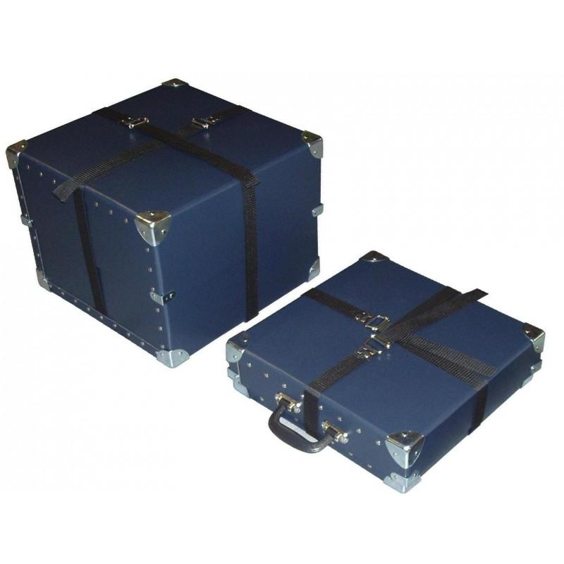 Boite en fibre pour le transport de films, Réf 300598