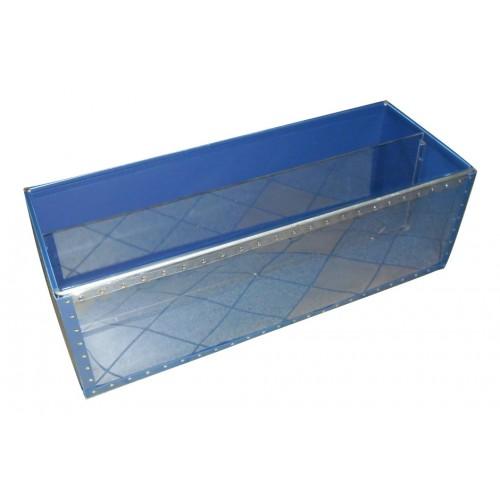 Bac avec façade transparente, Réf 302366