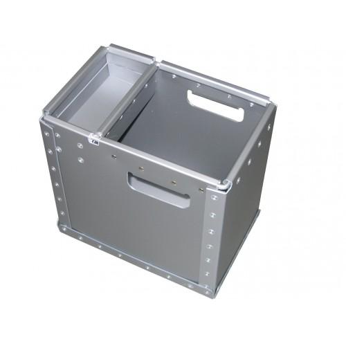 Bac avec compartiment fixe, Réf 300805