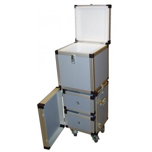 Flight case sur mesure,en Beeplast, Réf 303383