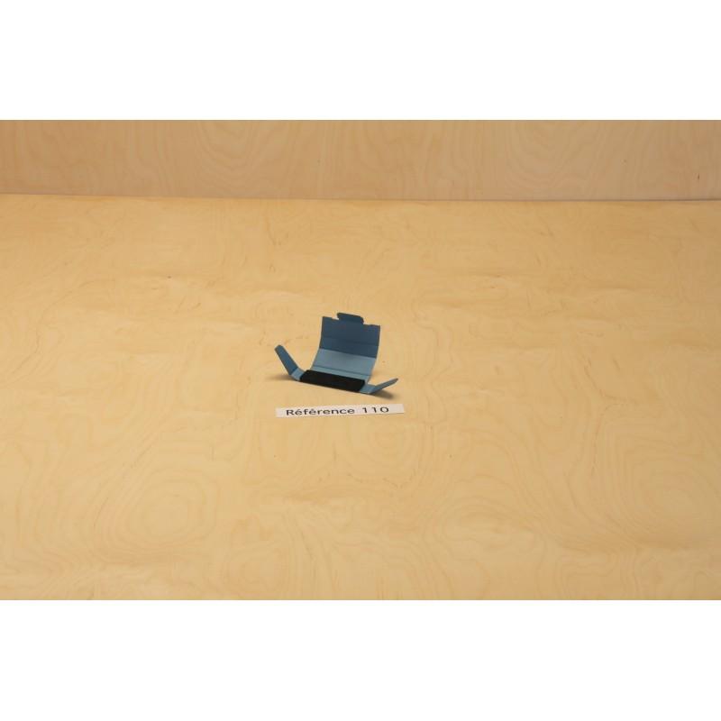 Boite de rangement antistatique en carton blindé bleu pour 1 composant